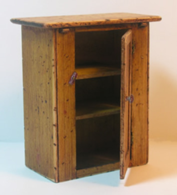 Miniature Shaker Printers Bench Cabinet