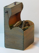 Miniature Shaker Wood Box
