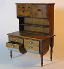 Miniature Colonial Dutch Cabinet