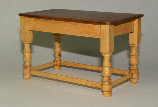 Miniature Traditional Short Table - Click photo to order