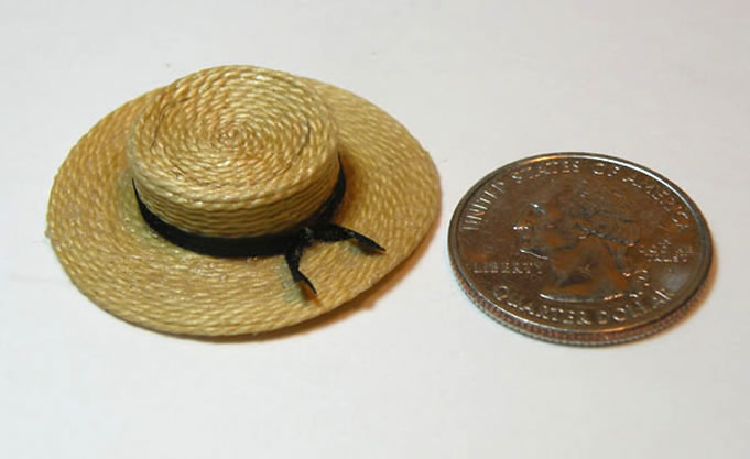 The Miniature Shaker Straw Hat