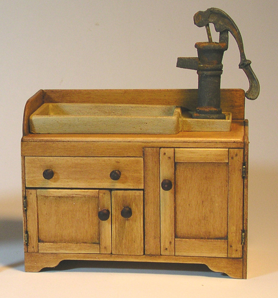 Miniature Country Kitchen Sink
