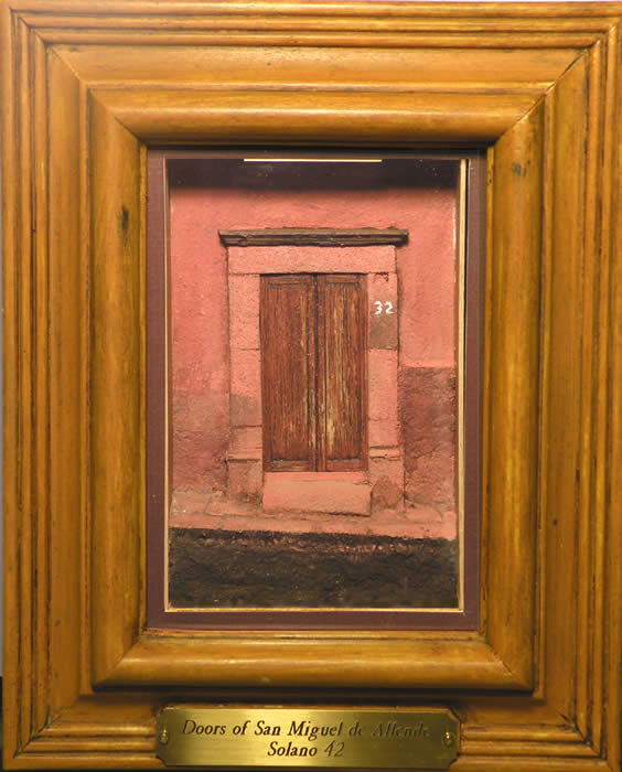 Framed Miniature Doors of San Miguel de Allende
