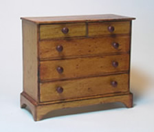 Miniature Shaker Chest of Drawers
