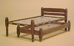 Miniature Shaker Trundle Bed