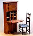 Miniature Shaker Personal Desk with #61C Chair